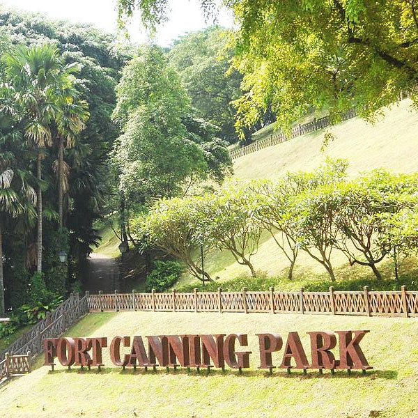 Fort Canning Park Near Avenir